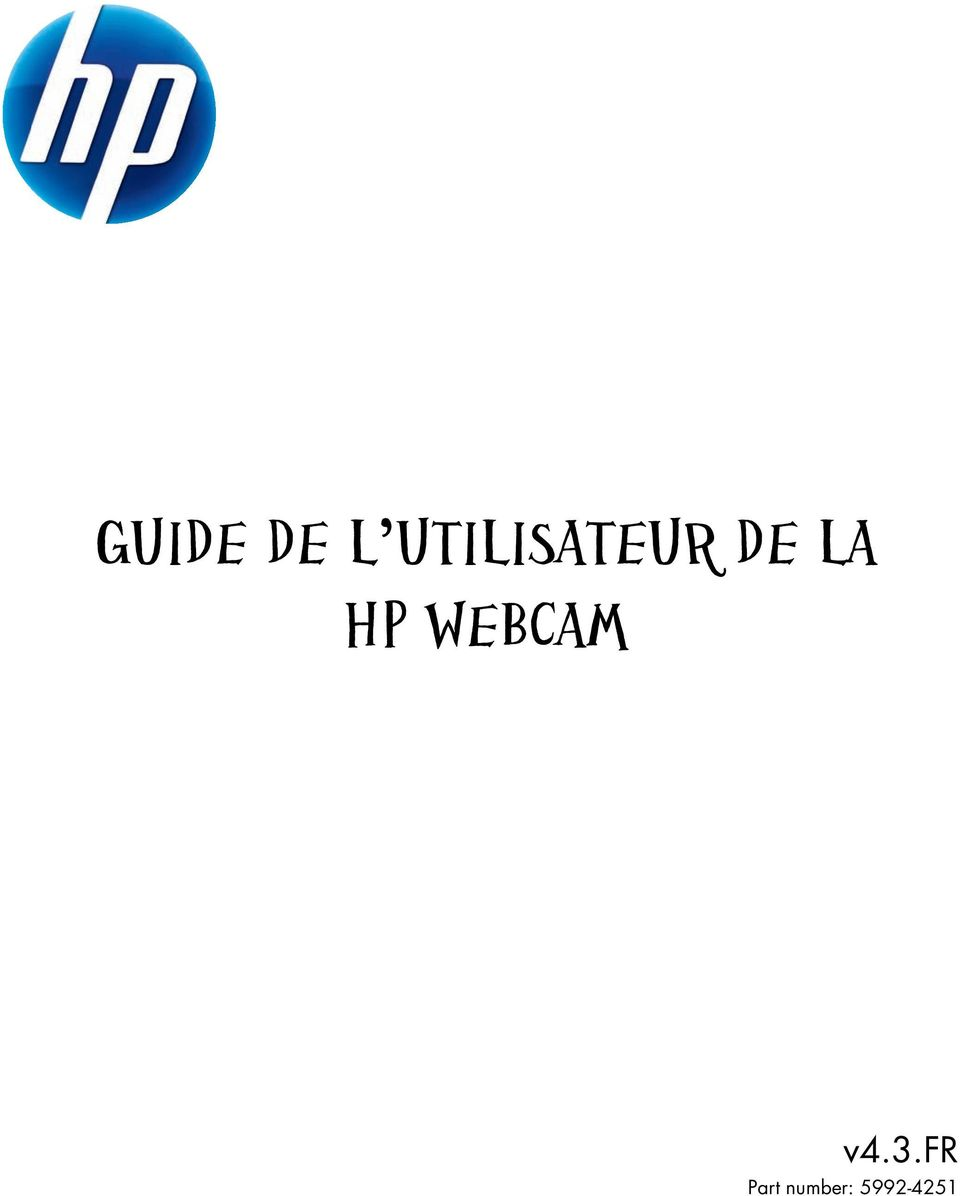 HP WEBCAM v4.3.