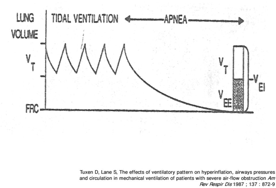 in mechanical ventilation of patients with severe