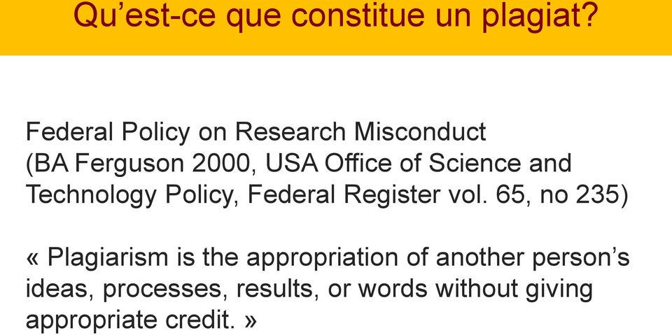 Science and Technology Policy, Federal Register vol.