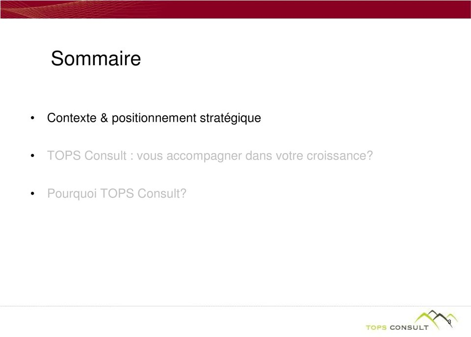 Consult : vous accompagner dans