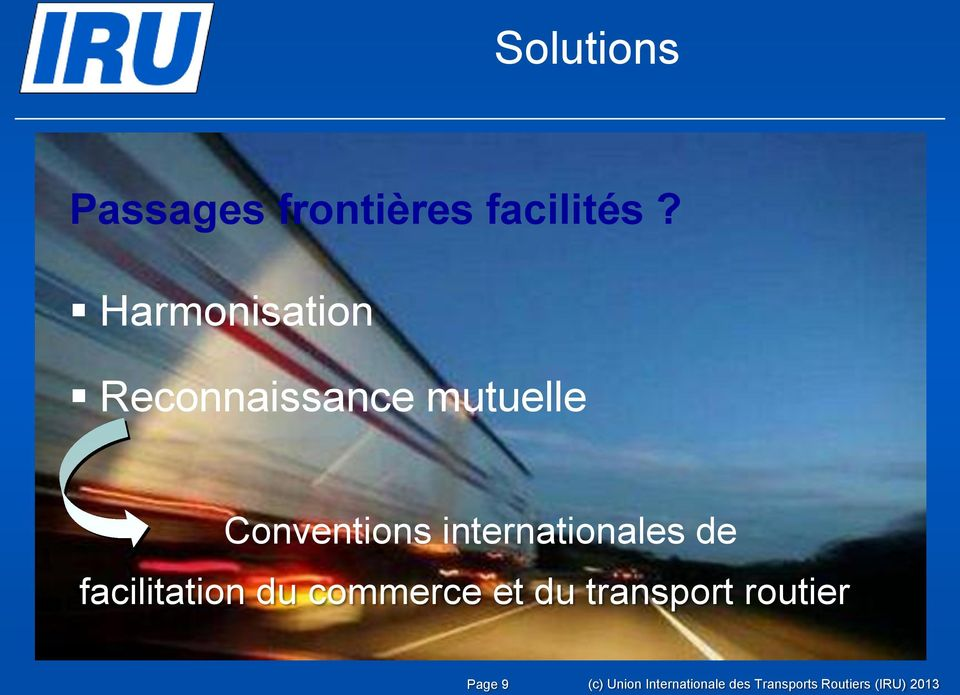 internationales de facilitation du commerce et du