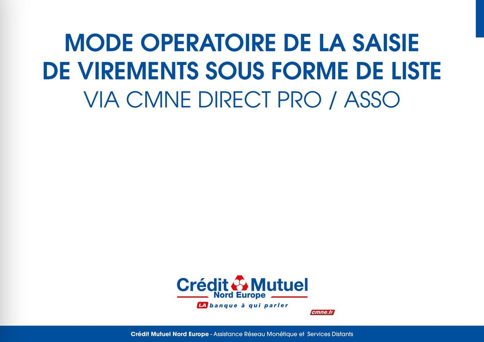 ASSO Crédit Mutuel Nord Europe -