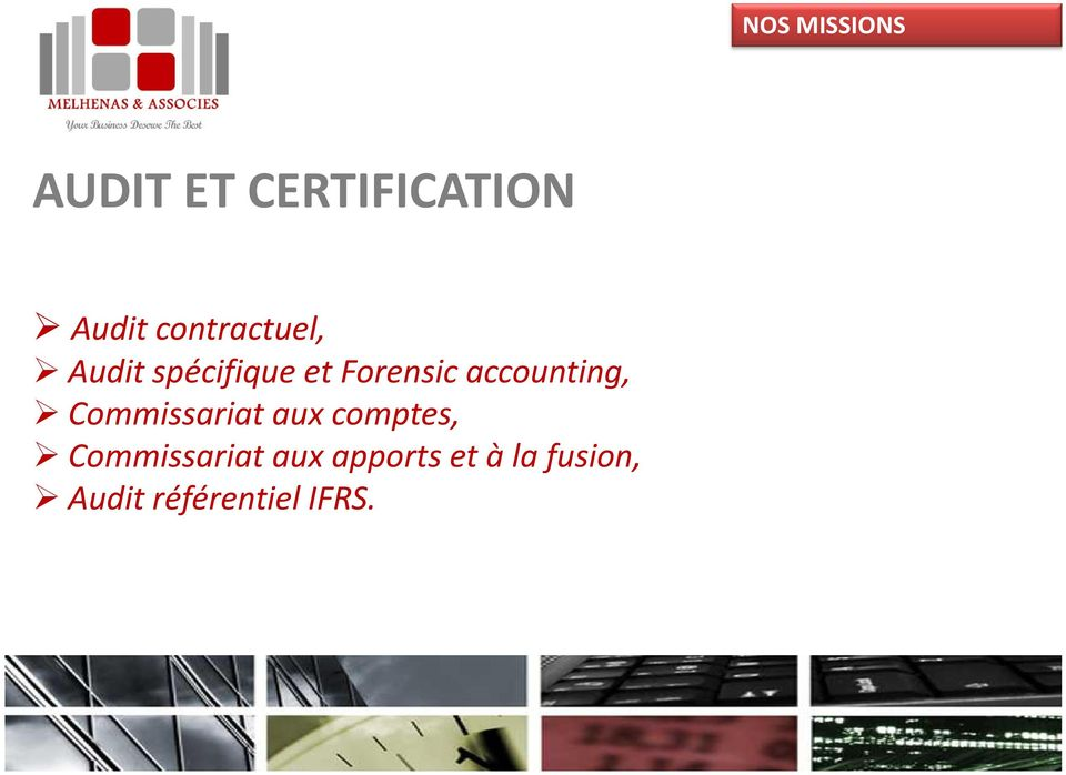 accounting, Commissariat aux comptes,