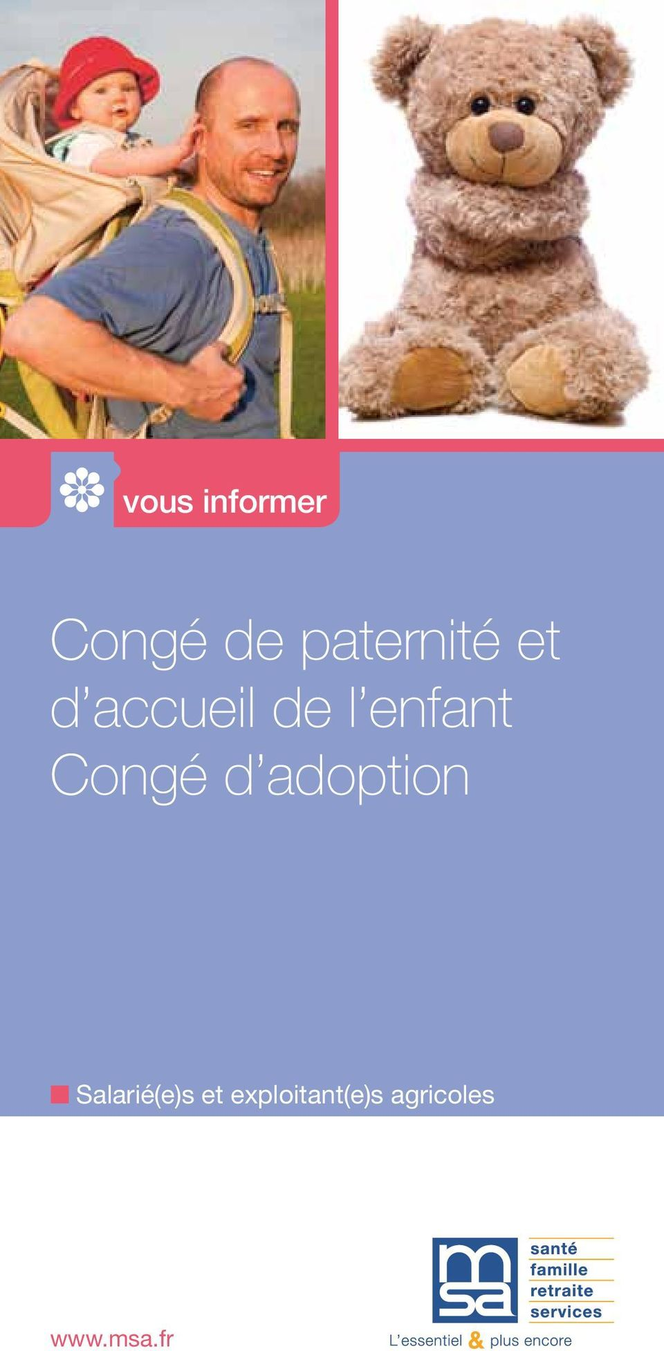 enfant Congé d adoption n