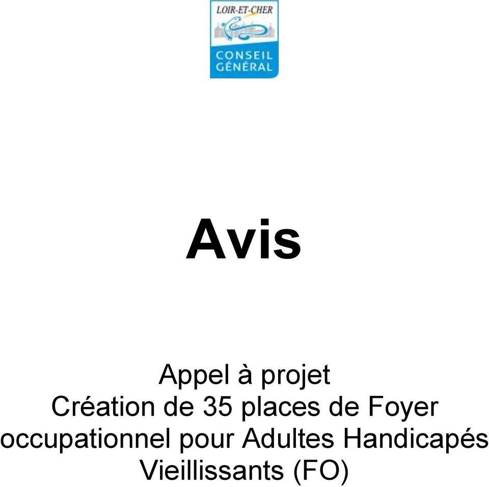 Foyer occupationnel pour