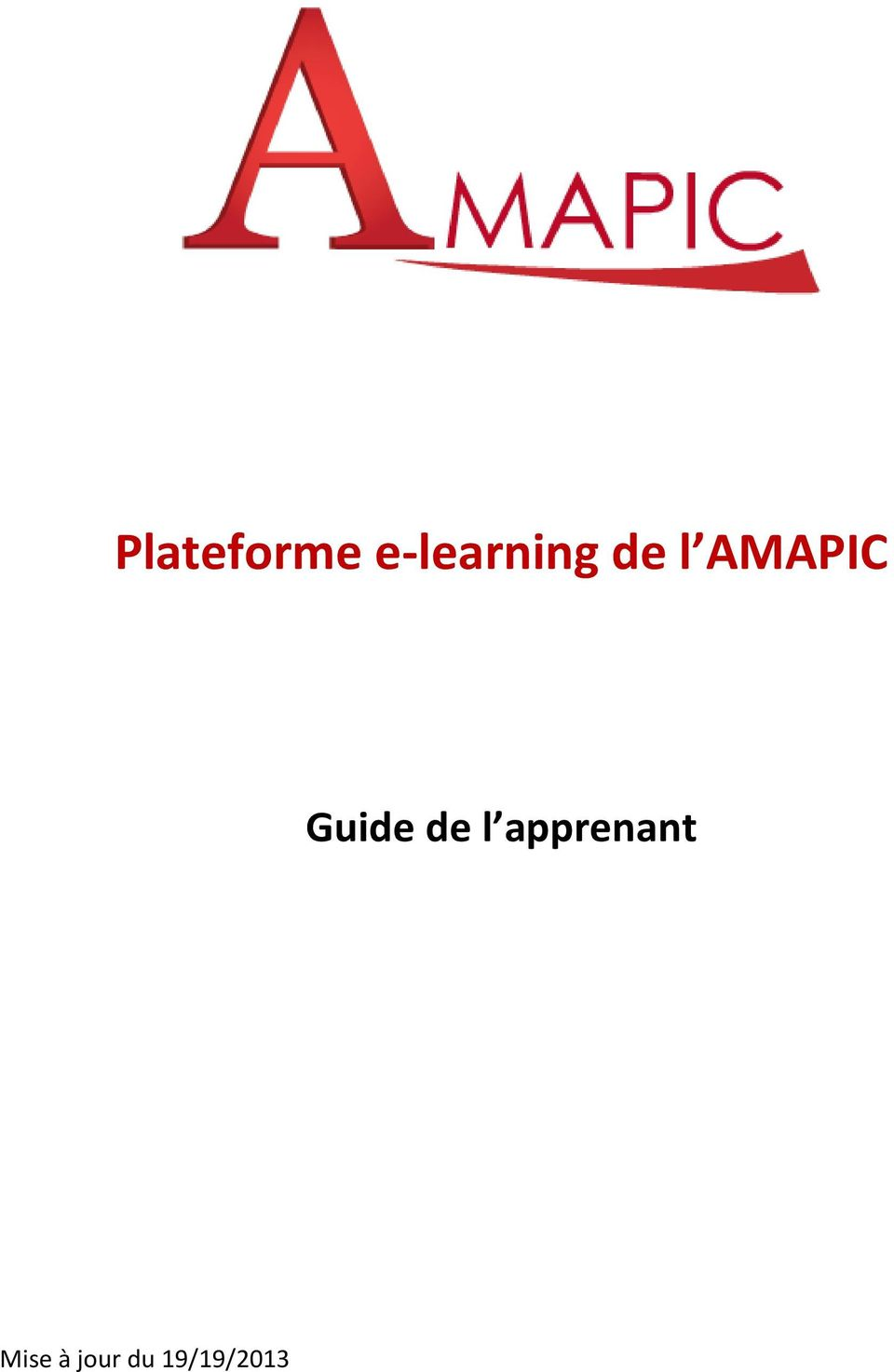 AMAPIC Guide de l