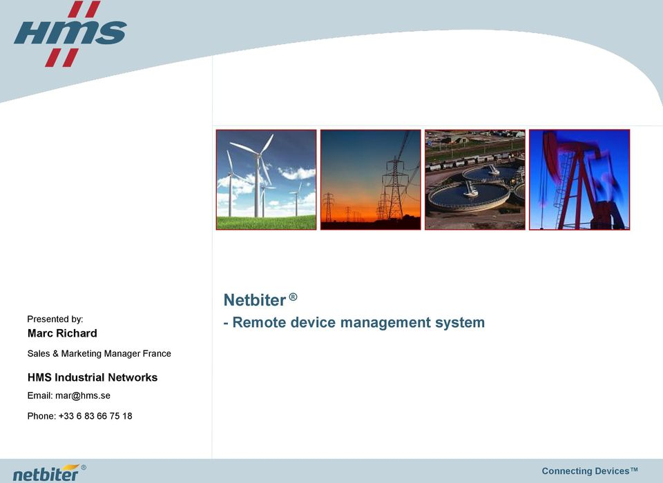 Marketing Manager France HMS Industrial