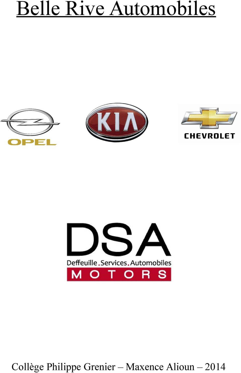 Belle rive automobiles pdf for Bell rive