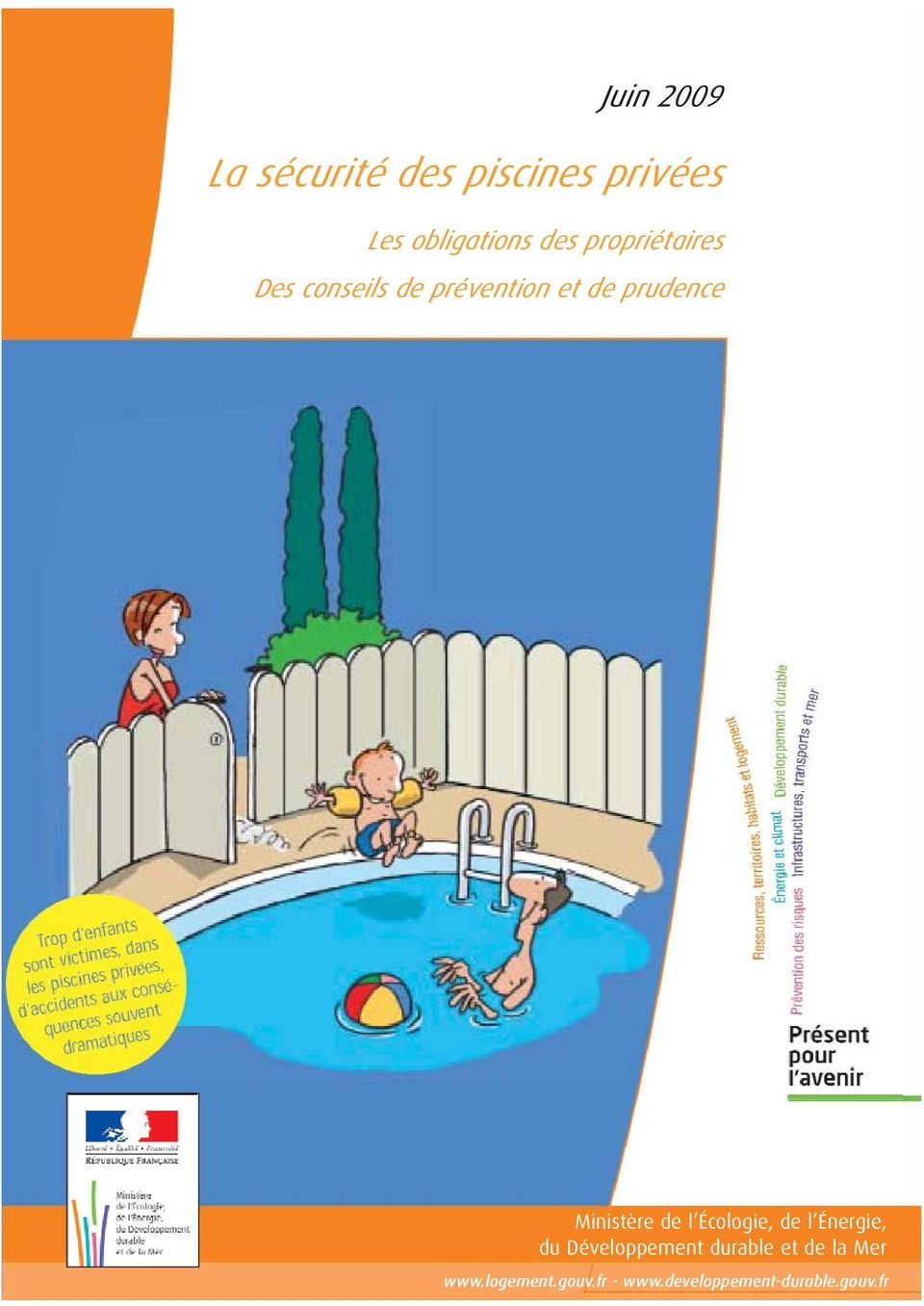La s curit des piscines priv es pdf for Securite piscine privee