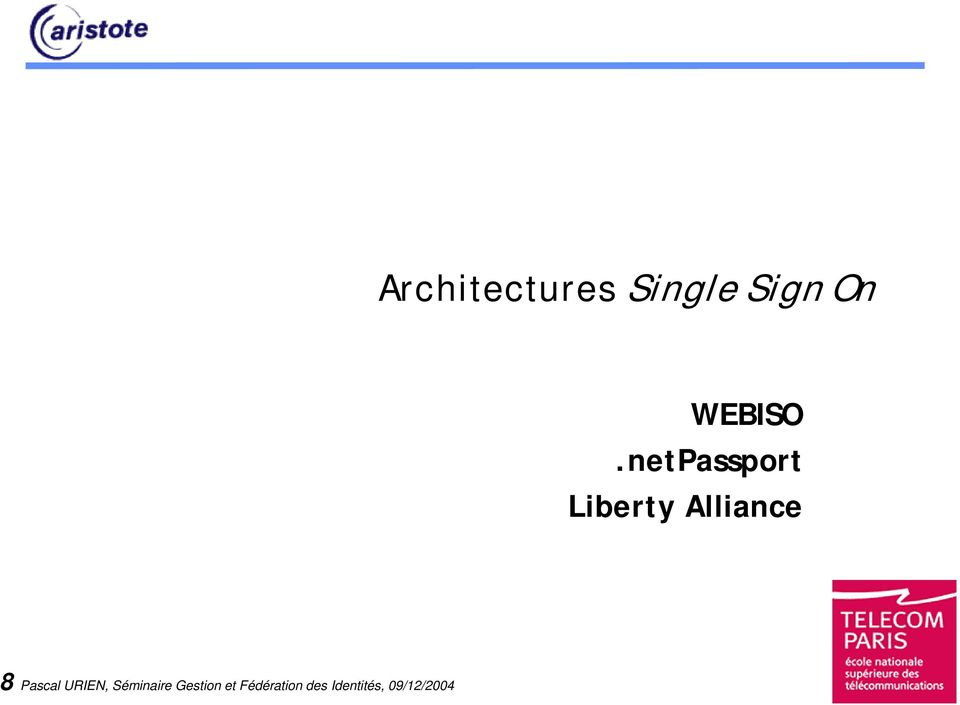 netPassport Liberty Alliance 8