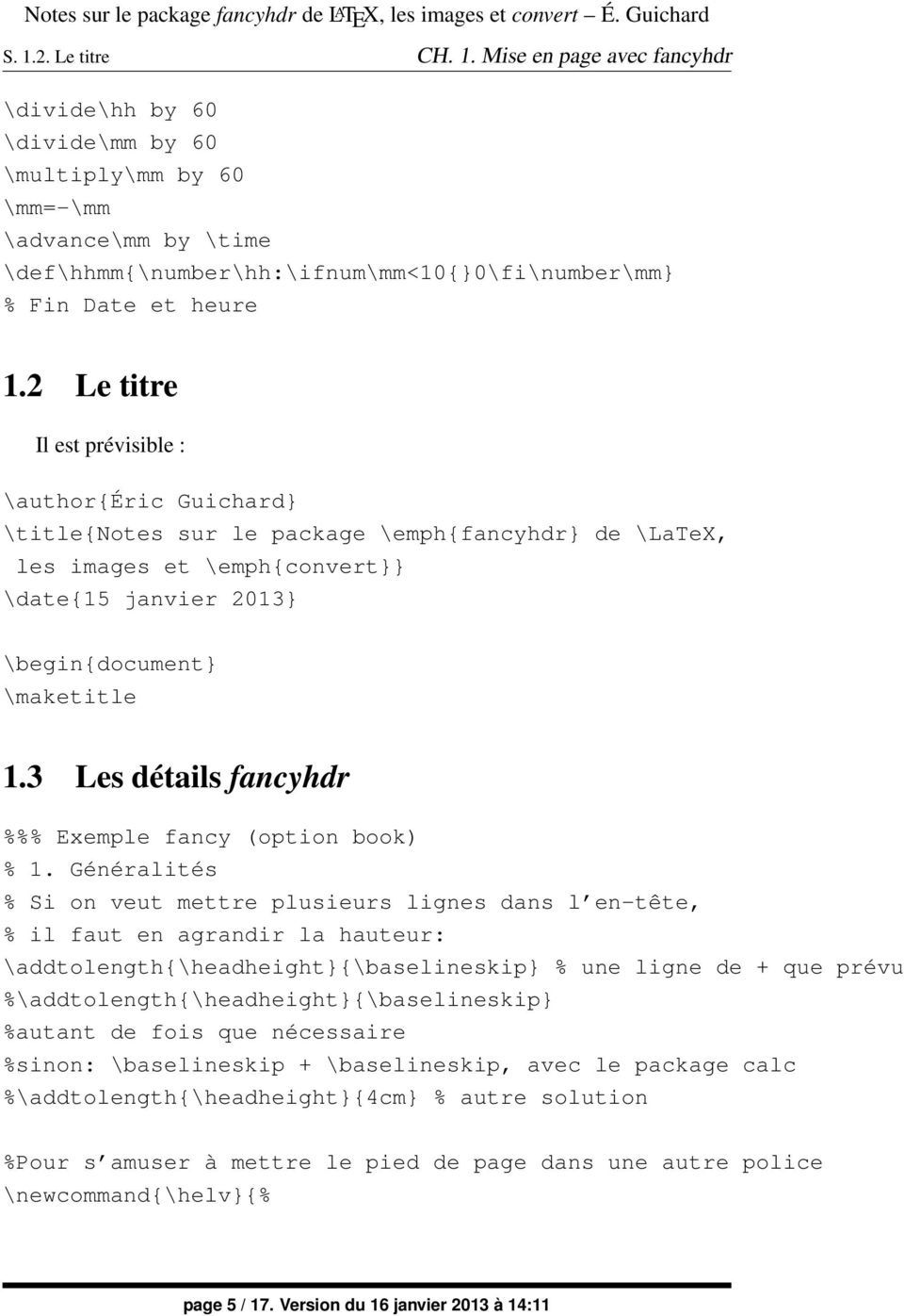 Latex markboth package