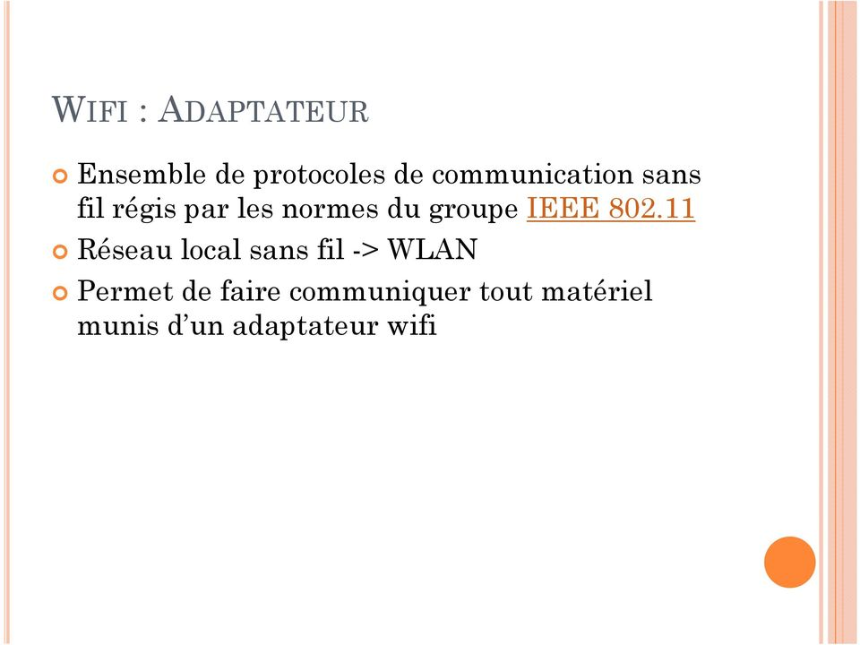groupe IEEE 802.