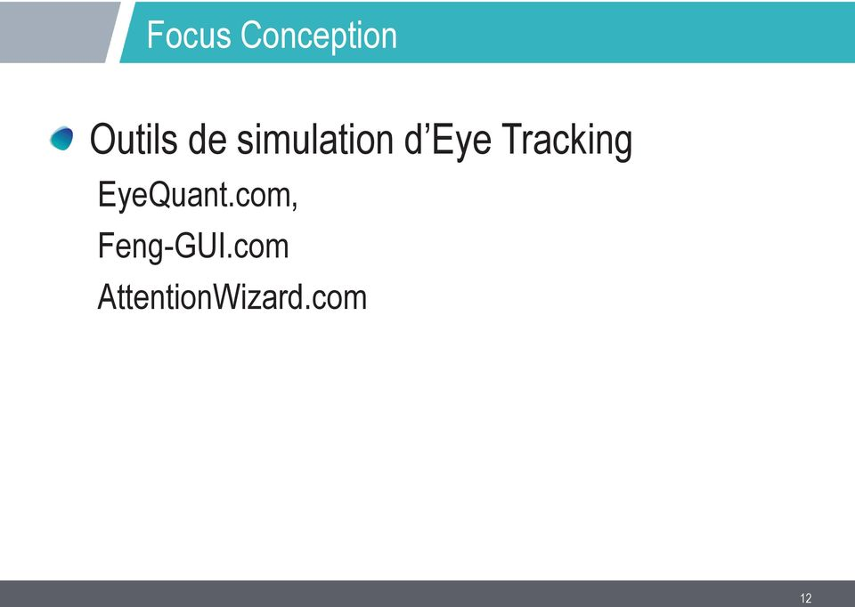 Tracking EyeQuant.