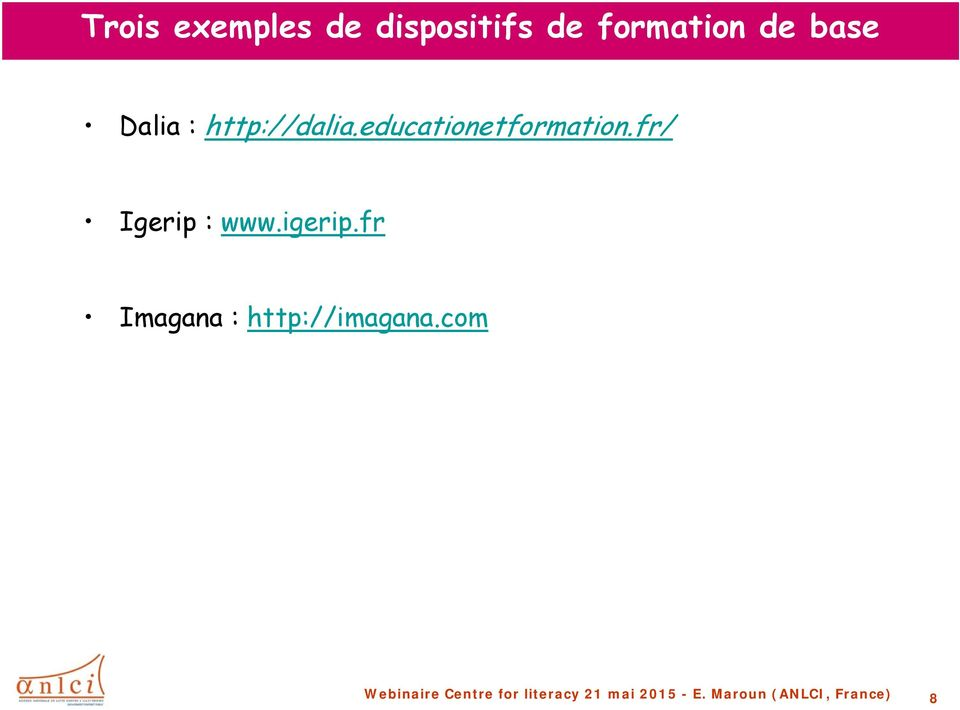 http://dalia.educationetformation.