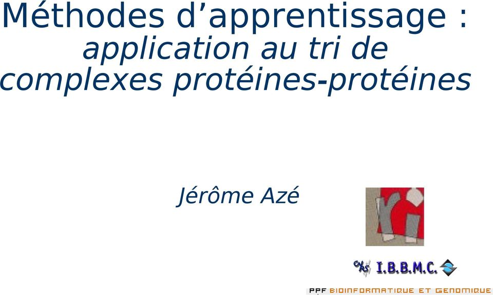 application au tri de