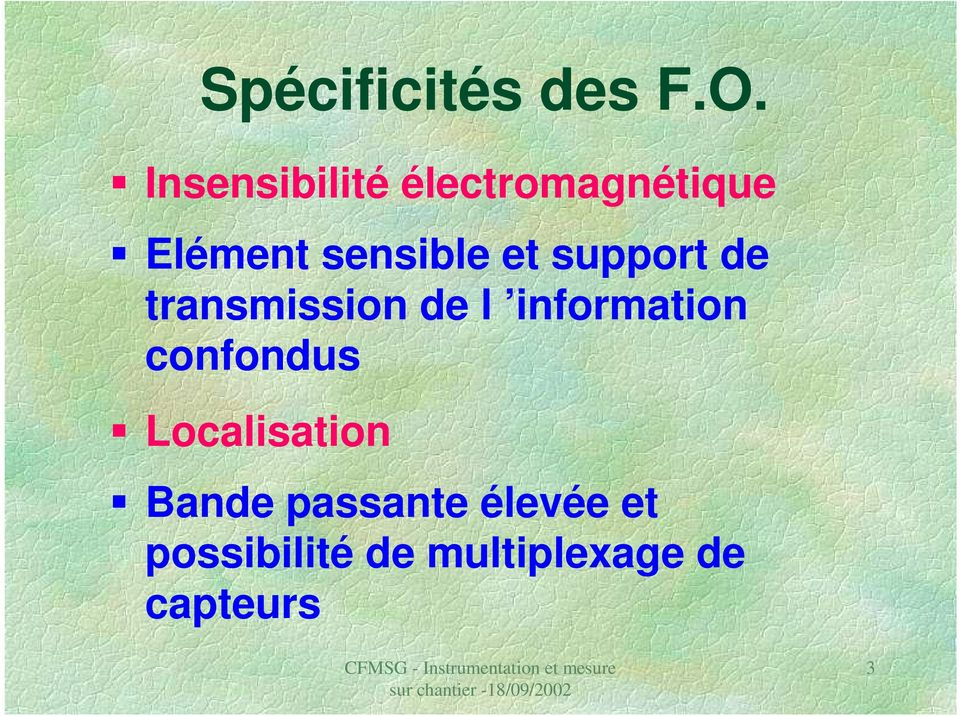 et support de transmission de l information