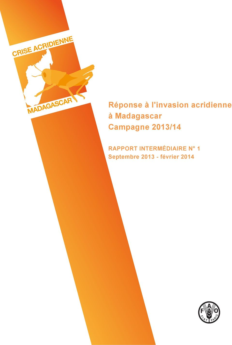 Campagne 2013/14 RAPPORT
