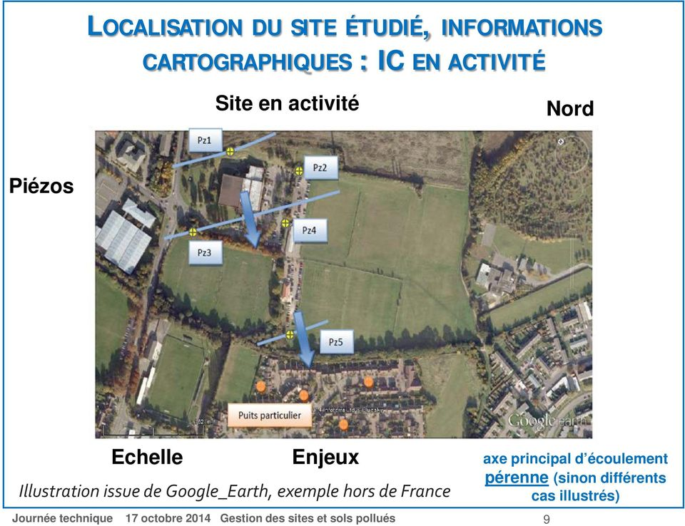 Illustration issue de Google_Earth, exemple hors de France