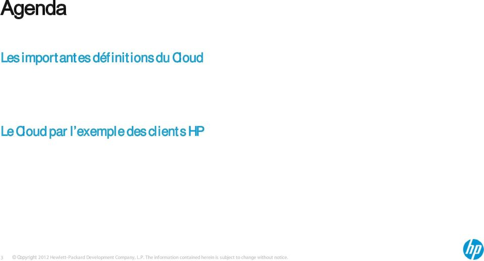 définitions du Cloud