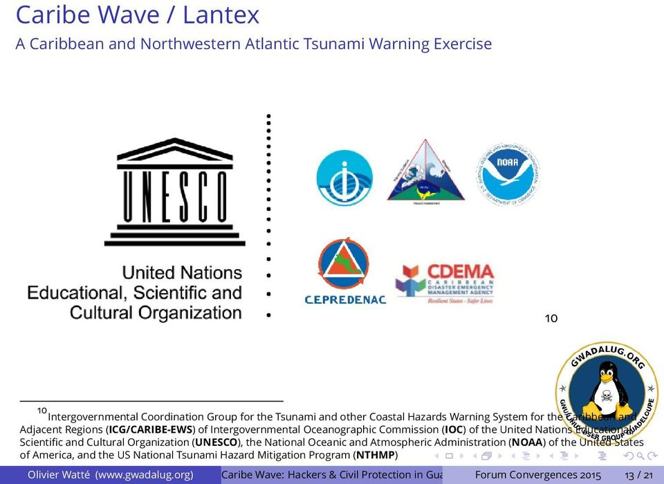 Caribe Wave: Hackers & Civil Protection in Guadeloupe - PDF