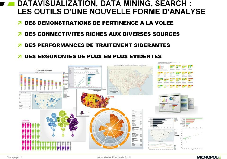 CONNECTIVITES RICHES AUX DIVERSES SOURCES DES PERFORMANCES DE