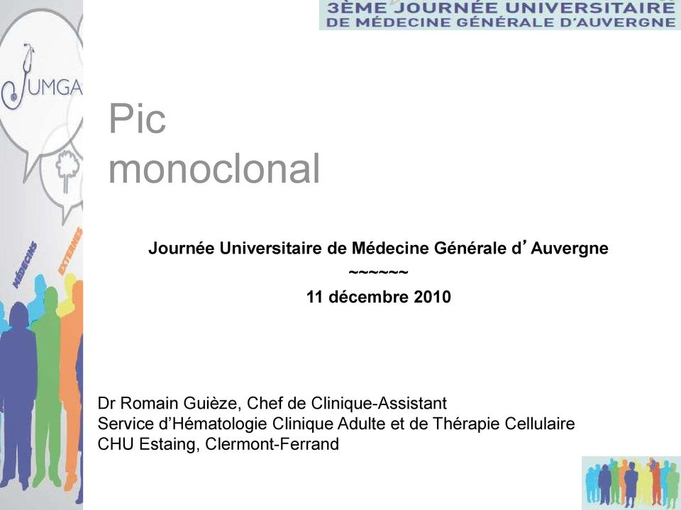 de Clinique-Assistant Service d Hématologie Clinique
