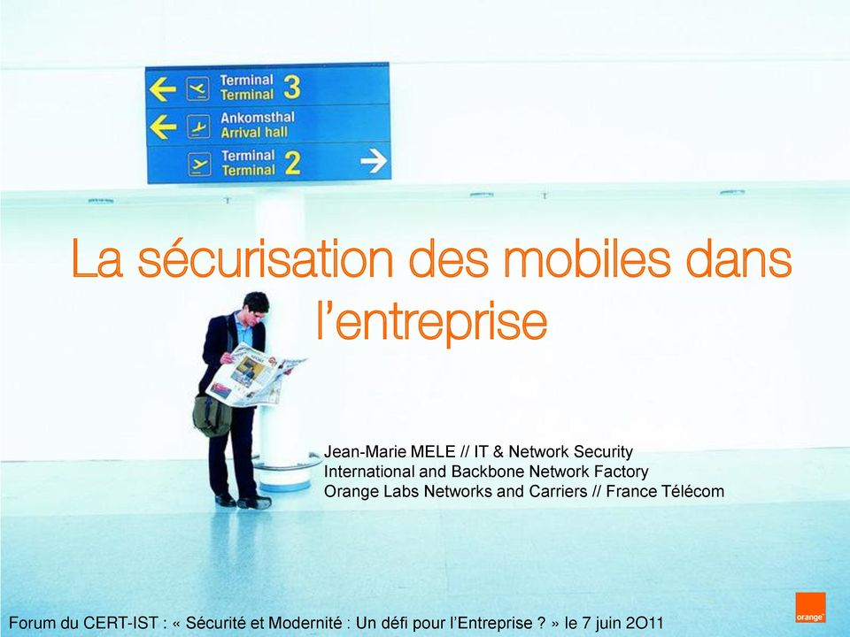 Carriers // France Télécom IPv6 day IPv6 access and backhaul networks Forum