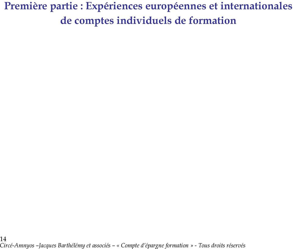 et internationales de