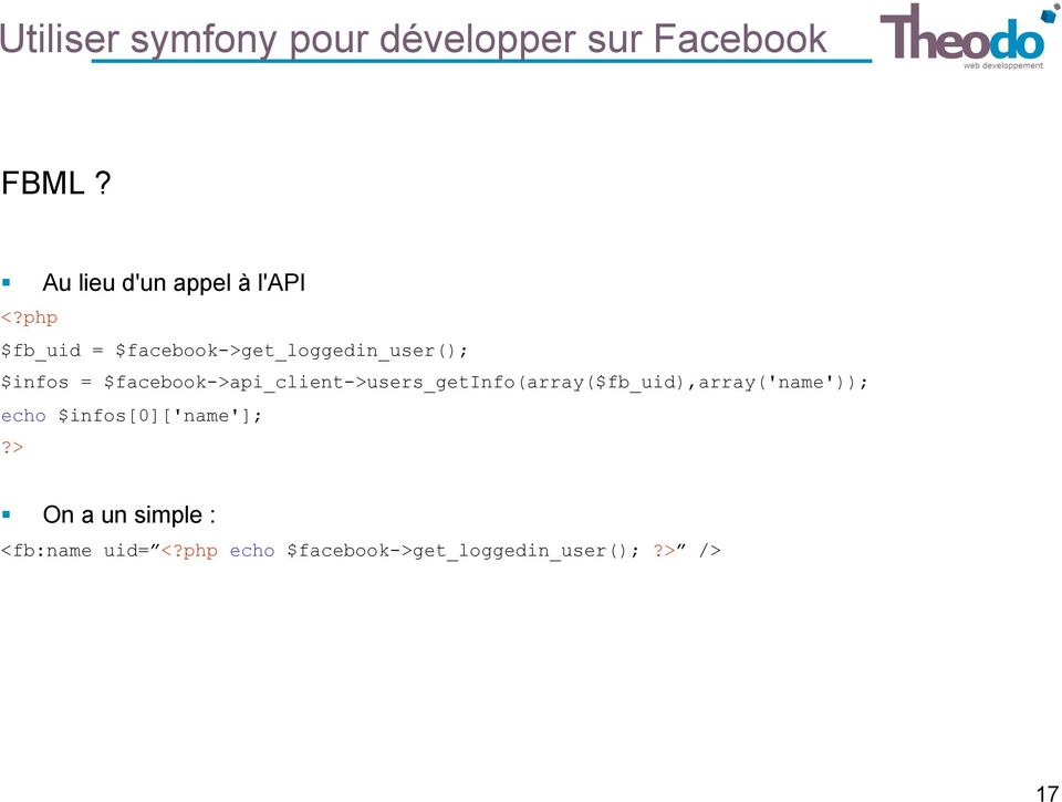 php $fb_uid = $facebook->get_loggedin_user(); $infos =