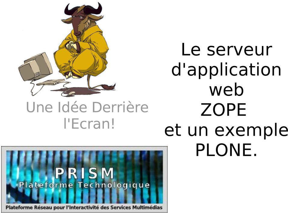 Le serveur d 39 application web une id e derri re l 39 ecran for Idee application web