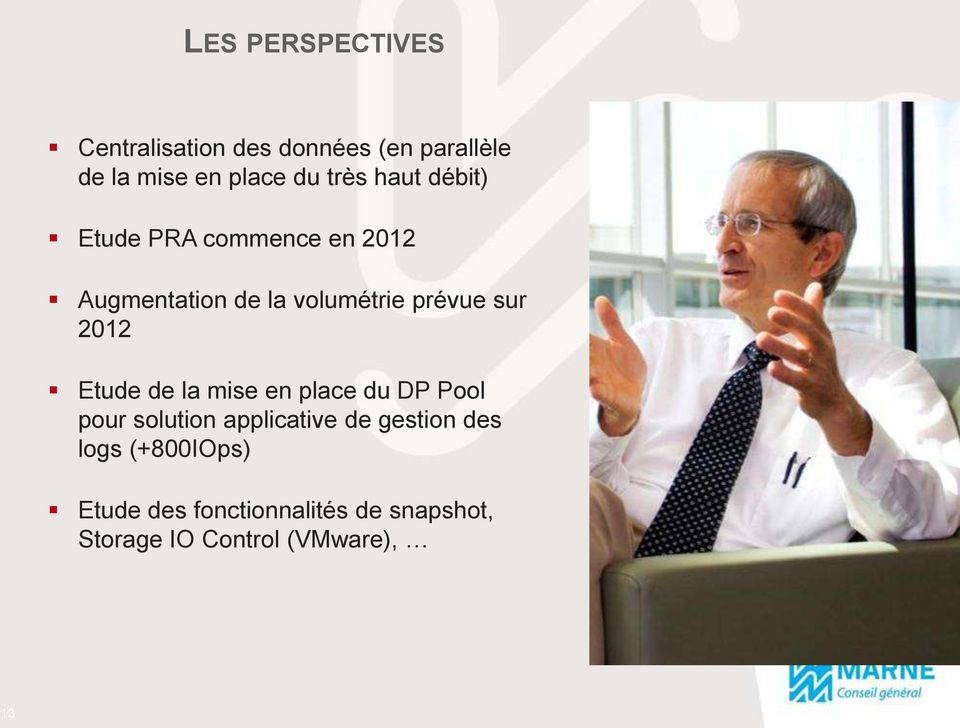 sur 2012 Etude de la mise en place du DP Pool pour solution applicative de gestion