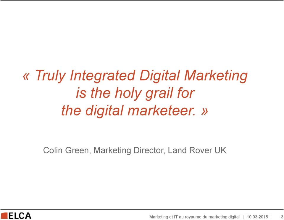 the digital marketeer.