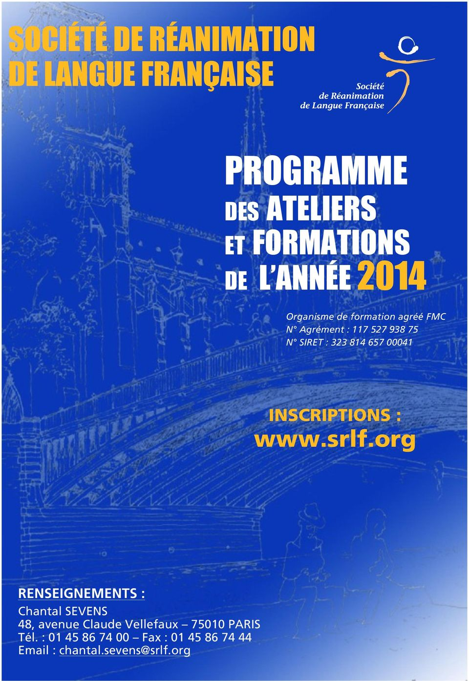 657 00041 INSCRIPTIONS : www.srlf.