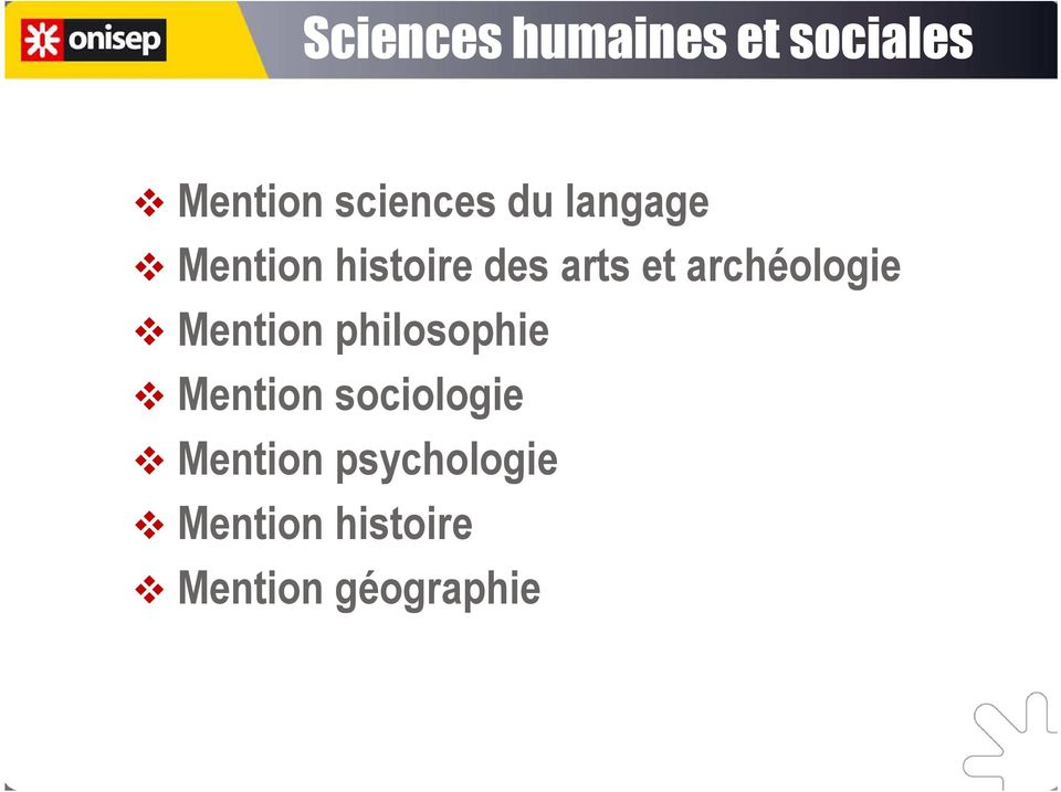 archéologie Mention philosophie Mention