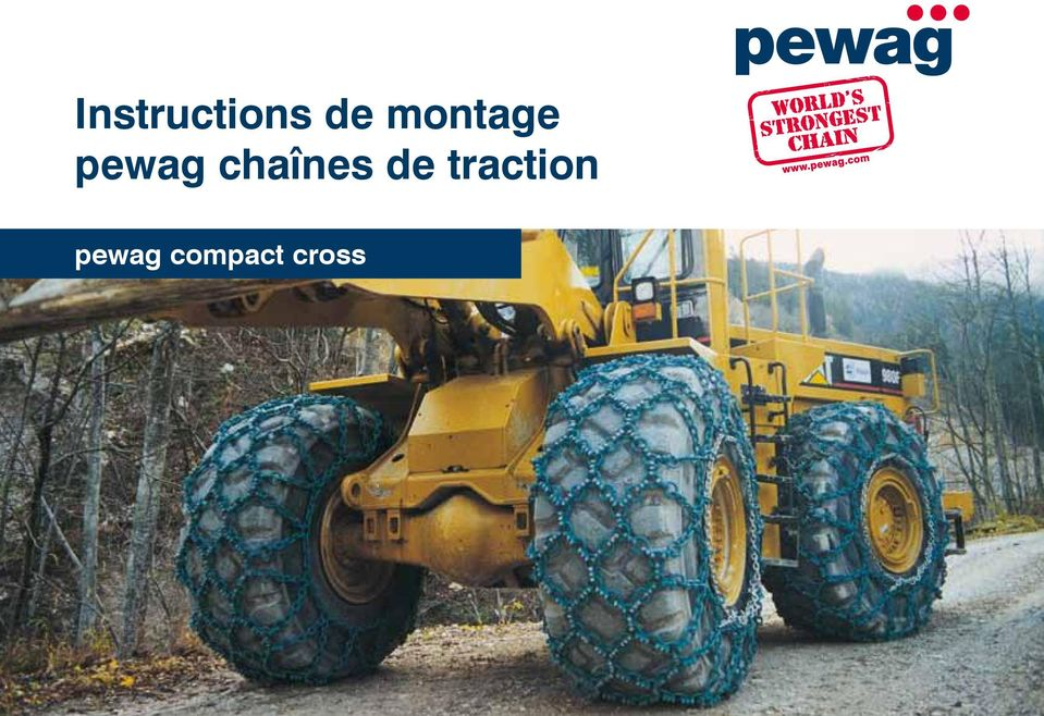 de traction pewag