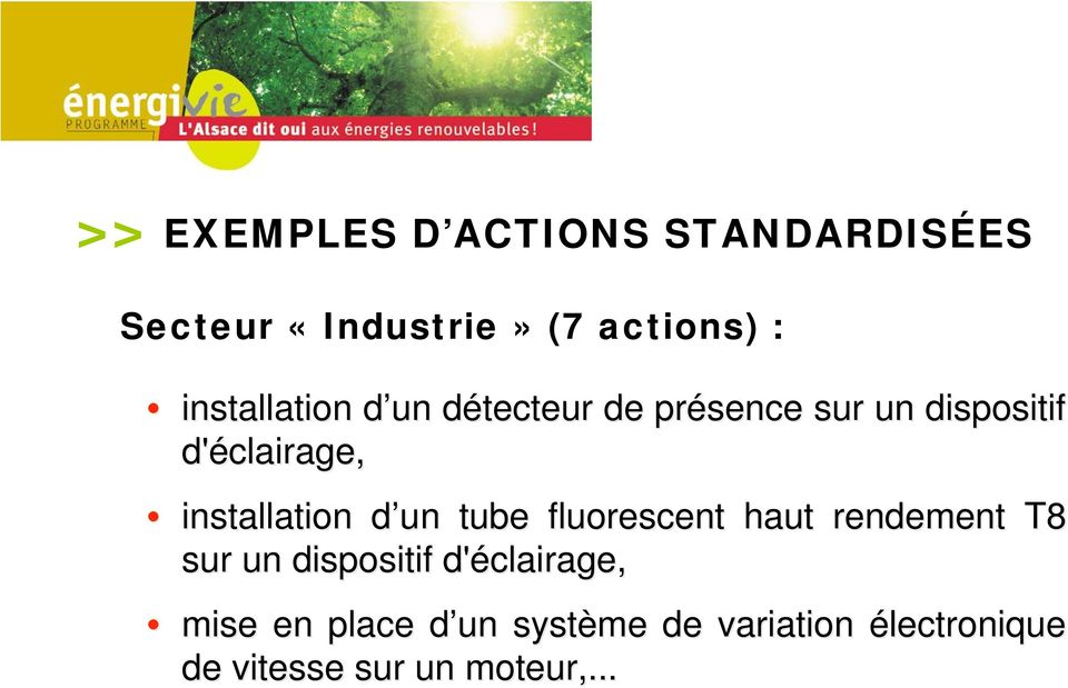 installation d un d tube fluorescent haut rendement T8 sur un dispositif