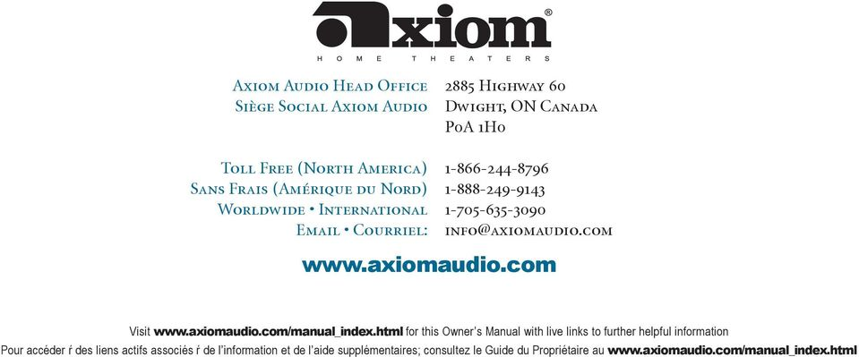 axiomaudio.com/manual_index.