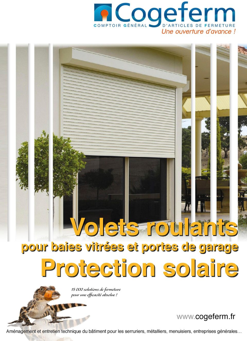 pour baies vitr es et portes de garage protection solaire solutions de fermeture pour une. Black Bedroom Furniture Sets. Home Design Ideas