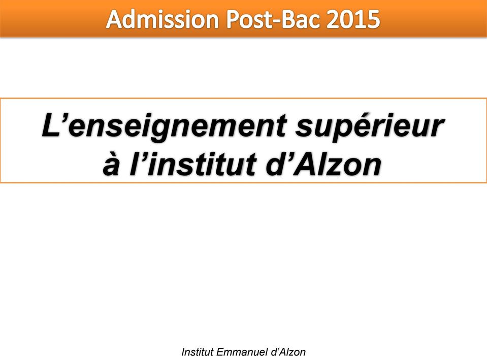 institut d Alzon