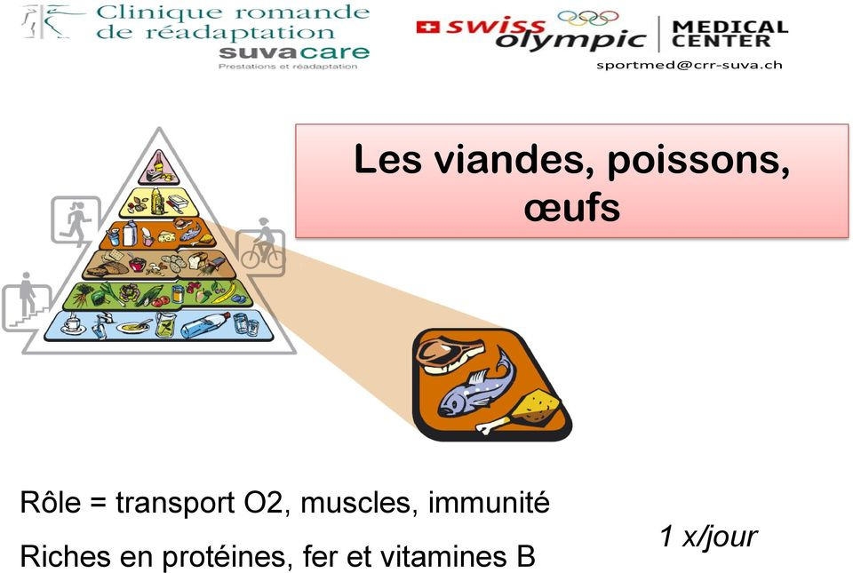 muscles, immunité Riches en