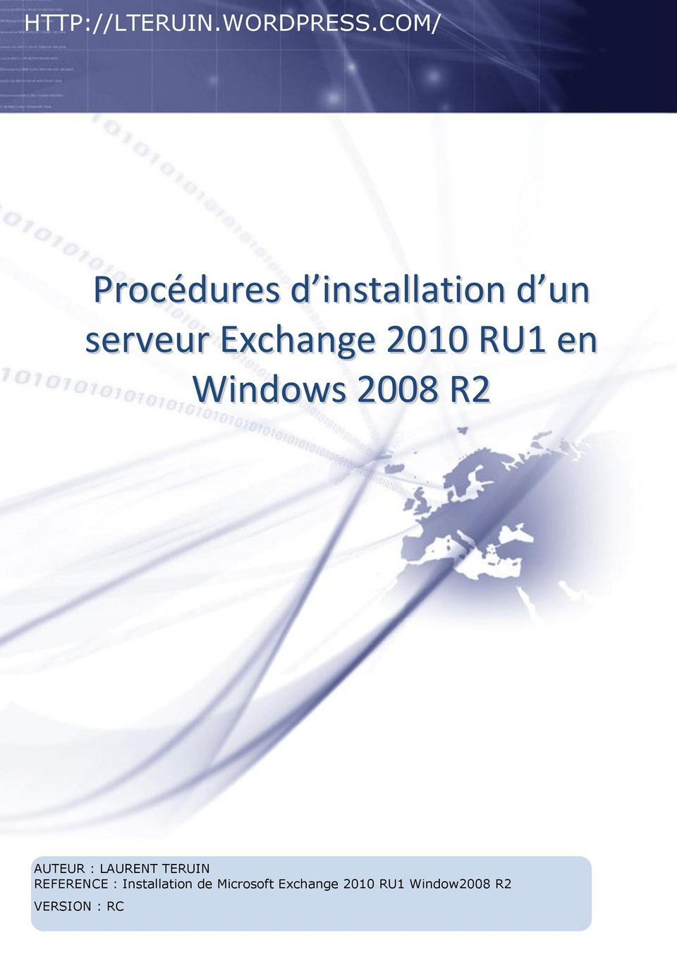 Exchange 2010 U1 en Windows 2008 2 AUTEU :