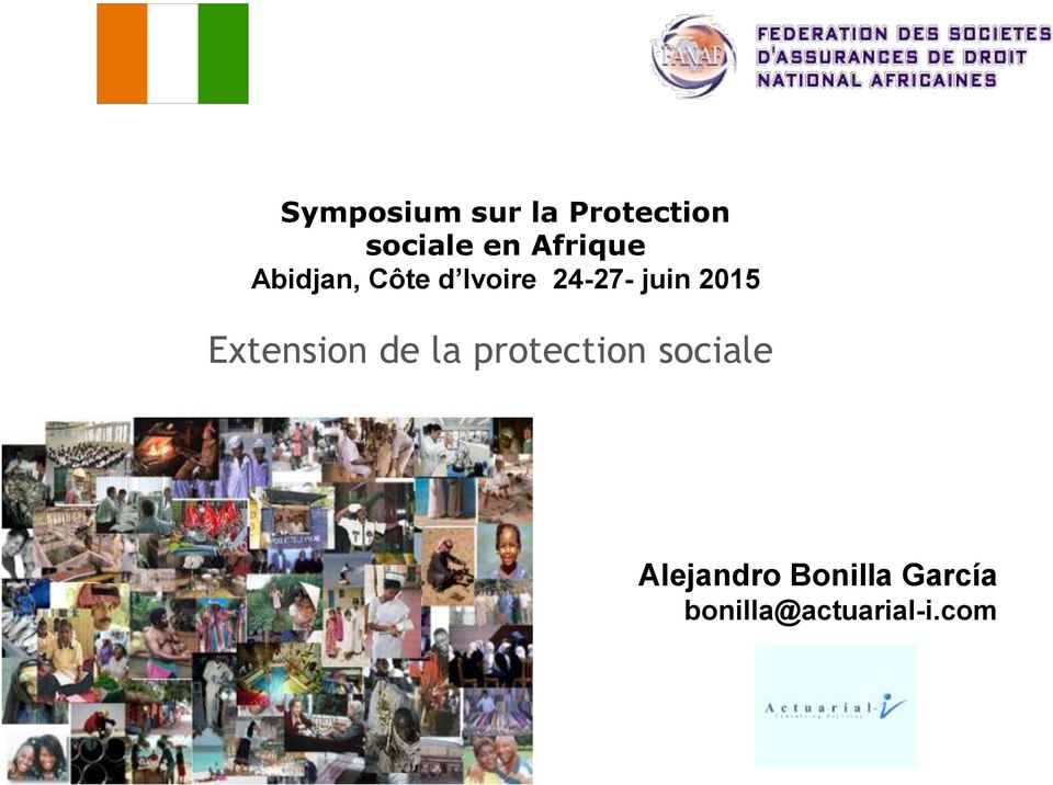 2015 Extension de la protection sociale