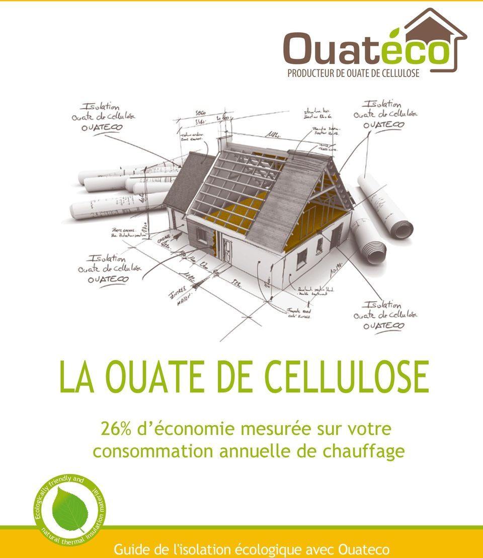 chauffage Ecologically natural friendly and insulation
