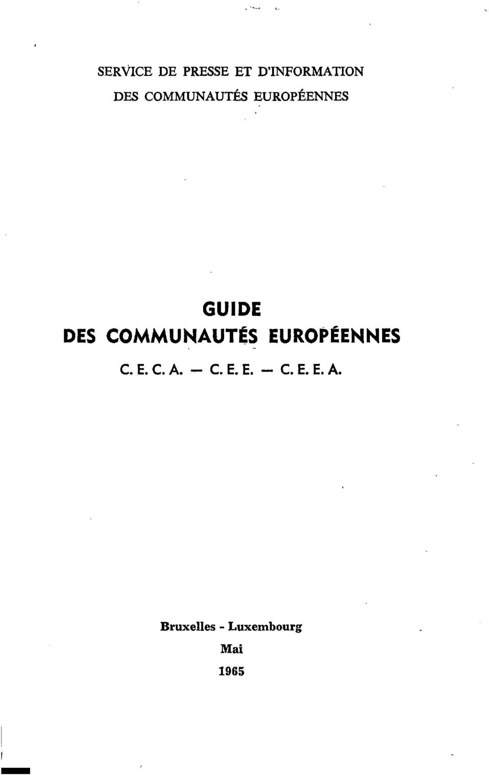 - C. E. E. - C. E. E. A. librarr EUROPEAN CO M MUNITY I.