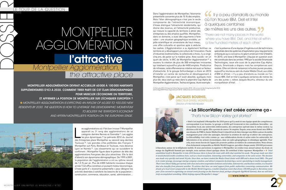 Montpellier Agglomération is expecting an inflow of 60,000 to 100,000 new residents by 2030.