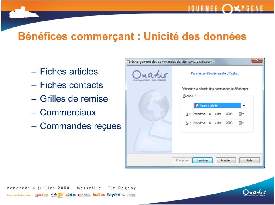 Fiches contacts Grilles de
