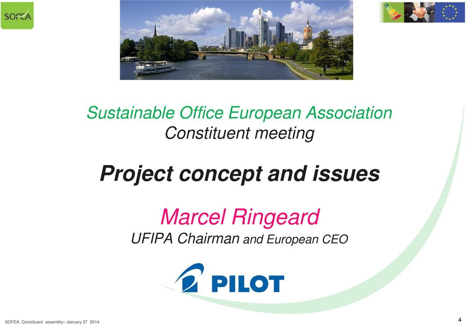 Project concept and issues Marcel
