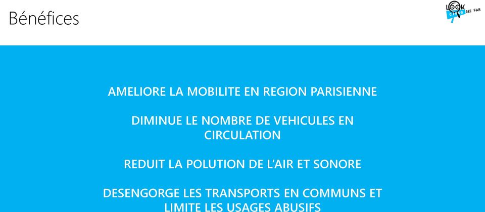 CIRCULATION REDUIT LA POLUTION DE L AIR ET SONORE