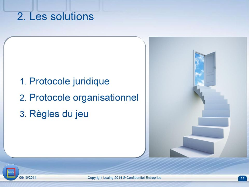 Protocole organisationnel 3.