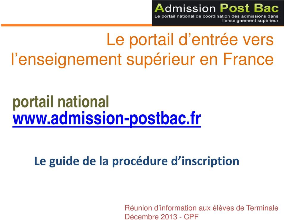 fr Le guide de la procédure d inscription Réunion d